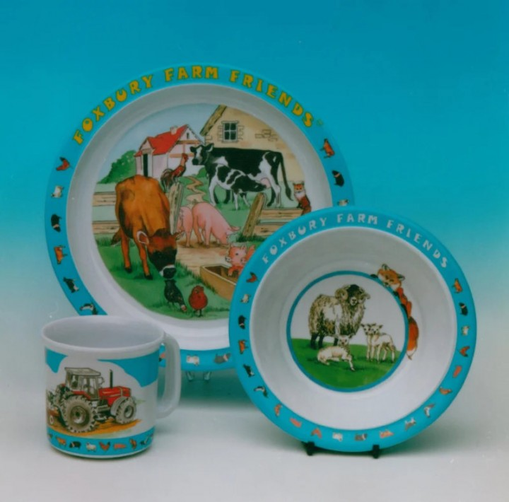 Farmer Dawes tableware